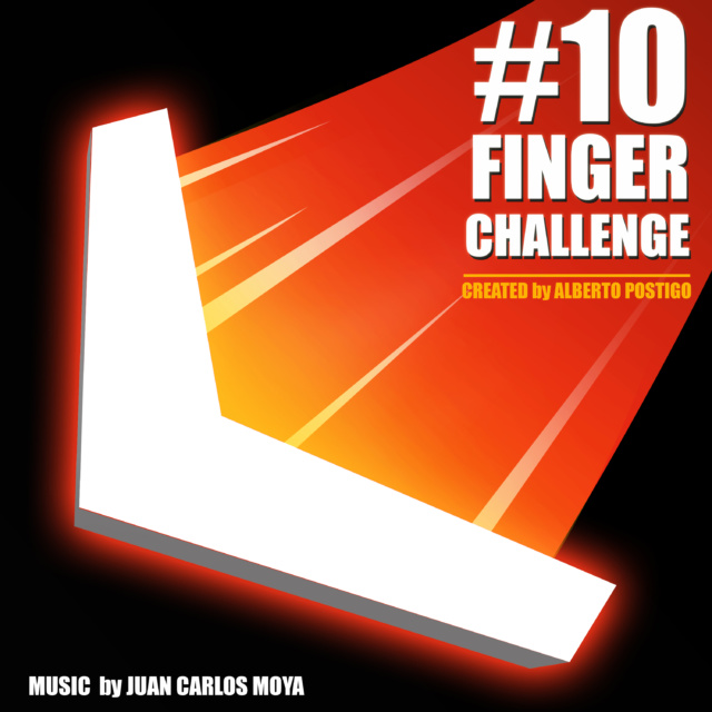 "Original Soundtrack and Sound Design for ""#10 Finger Challenge"" game by Alberto Postigo (2019)"