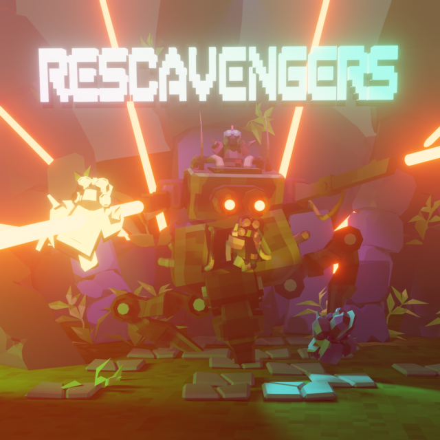 Rescavengers Retrowave (Original Game Soundtrack). #MJW11 (2020)